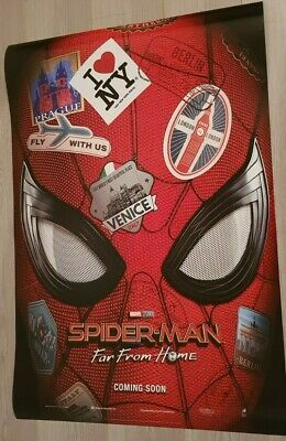 SPIDER-MAN FAR FROM HOME (2019) - ADVANCE POSTER 27x40 DS ORIGINAL