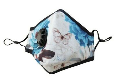NoBac Anti Pollution Flu Mask N99 Asthma Allergy Bacteria washable + 6 Filters