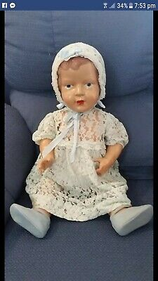 Vintage Celluloid Palitoy Doll