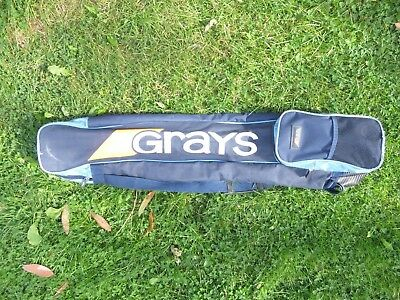 Blue Grays Large Hockey Stick Bag Front Pocket For Shin Pads And Gum Shield.