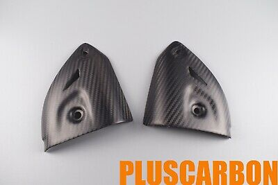 Exhaust Covers Ducati Panigale 899 1199 Twill Carbon Fiber Exhaust Covers Matt