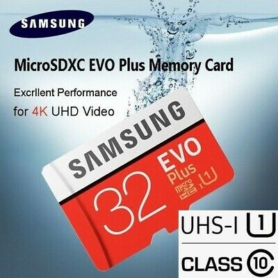 Carte Memoire SAMSUNG 32 Go Micro SD SDXC EVO PLUS Sous Blister Original Stockag