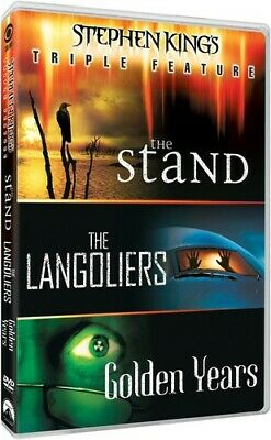 The Stand (1994) / The Langoliers / Golden Years (1991) (Stephen King's) DVD NEW