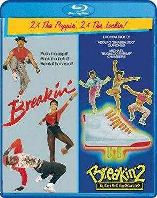 Breakin' 1 / 2: Electric Bugaloo (Breakdance 1 / 2 Electric Bugaloo) BLU-RAY NEW