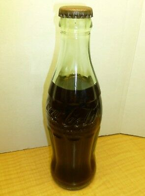Old vintage Coca-Cola bottle unopened sealed 1963 date code 1960's