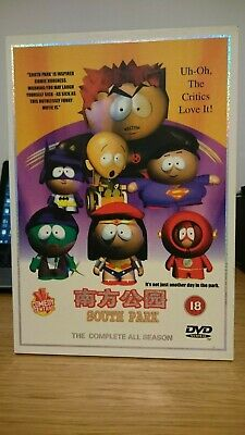SOUTH PARK CHINESE PRODUCED 37 DISC DVD BOX SET Seasons 1- 8