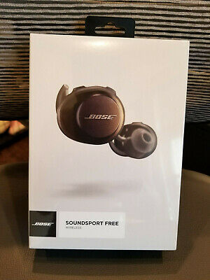 Bose Soundsport Free Wireless Headphones - Earbuds - Black (Sealed)