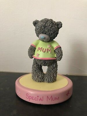 Special Mum Me To You Bear Resin Figurine & Free Mothers Day Card