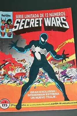 Secret Wars 8 volumen 1 Forum