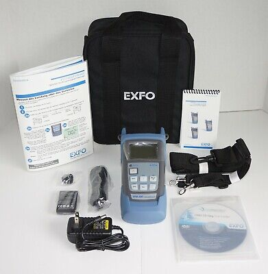 Exfo Fpm-602 Fpm-600 Optical Power Meter Optical Loss Test Set New German Manual