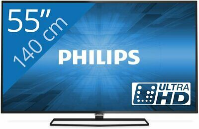 "TV LED 55"" UHD 4K Philips Android TV - 55PUK6400"