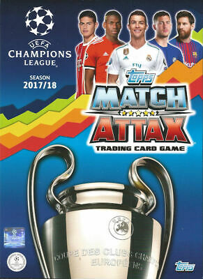 Topps Match Attax Champions League 2017/18 - Hat Trick Hero