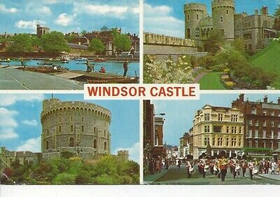 Postcard - UK - United Kingdom - Windsor  Castle England - Posted 1968