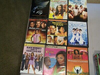 Dvd Lot: Dreamgirls, Ray, Breakin All The Rules, Daddys Little Girls