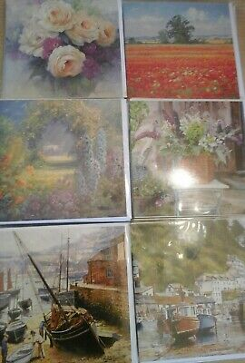 50  Quayside Gallery Cards, Wholesale Joblot Greeting Cards