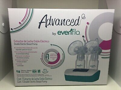 Advanced By Evenflo Double Electric Breast Pump - Used
