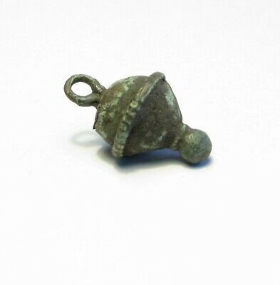 Аncient Artifact Bronze Decoration Pendant Button Vikings Kievan Rus 10-13 AD
