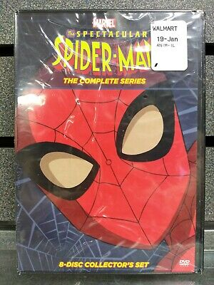 Spider-man | The Complete Series | DVD | NEW | Ships Fast
