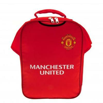 Manchester United Fc Official Team Kit Shaped Lunch Bag