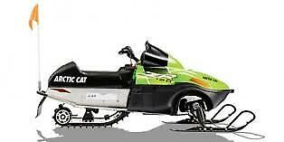 2017 Arctic Cat ZR 120 Youth Snowmobile
