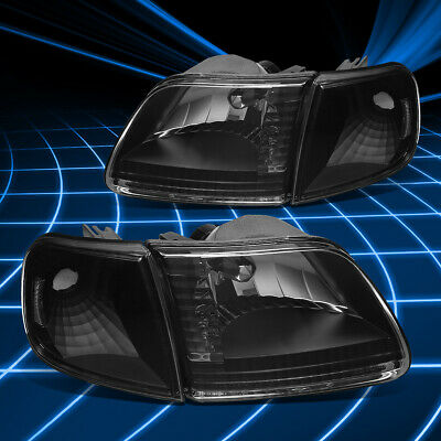 Spyder Auto 5070319 XTune Crystal Headlights Fits 97-03 Expedition F-150