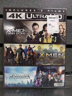 x-Men | 3 Film Collection | 4K/BluRay | NEW | Ships Fast