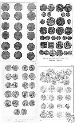 Collection of rare books on arabic coins, islamic numismatics (260+) - DVD
