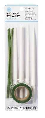 Martha Stewart Crafters Clay FLORAL TOOL KIT - 15 pieces 43-00011