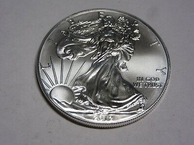 2012 .999 Pure  Silver American Eagle 1 Oz.  Brilliant Uncirculated Pristine