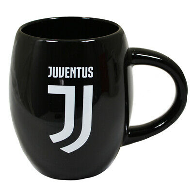 Juventus FC Ceramic Tea Tub Mug Cup Coffee In A Clear Acetate Gift Pack New Xmas