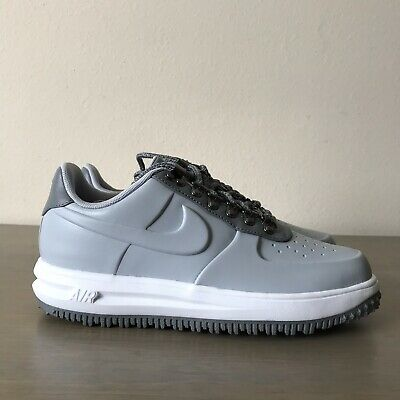 3221c41c955dc Nike LF1 Lunar Force 1 Duckboot Low Wolf Grey White AA1125-002 Men's Size 8