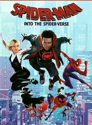 Spider-Man: Into the Spider-Verse (DVD,2018) NEW-Anim-SHIPS ON 03/19