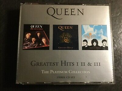 Queen Greatest Hits I II and III the Platinum Collection Cd Set