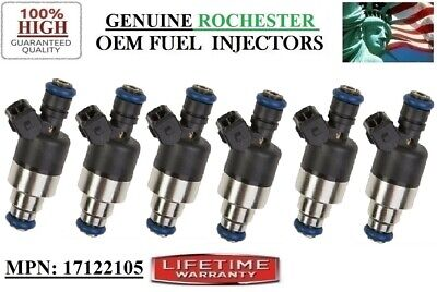 pack of 6 6x OEM fuel injectors for Pontiac-Oldsmobile-Chevy-Buick-Cadillac 2.8L //5235210