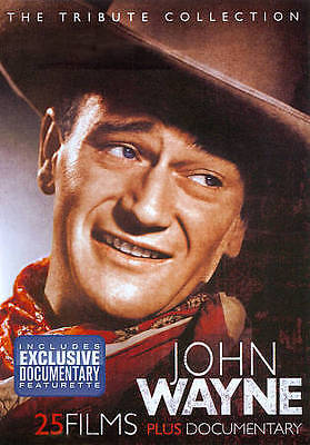 John Wayne: The Tribute Collection (DVD, 2011, 4-Disc Set) NEW SEALED 25 Films