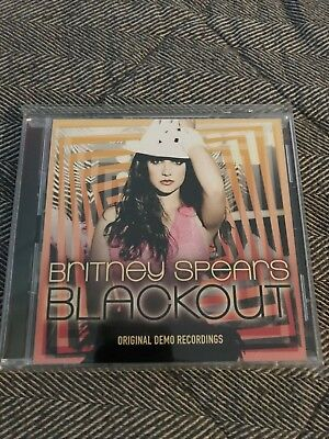 Britney Spears Blackout Original Demo Recordings 2 Cd Set, Promo