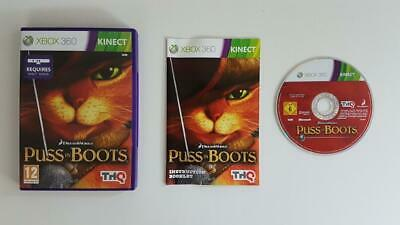 Dreamworks Puss In Boots Xbox 360 Used SAME DAY FREE SHIPPING