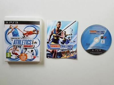 Summer Challenge Athletics Tournament PS3 Used SAME DAY FREE SHIPPING
