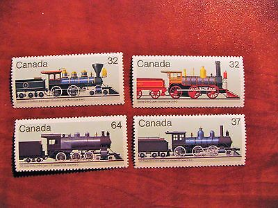 Canada 1984 #1036-1039 Canadian Locomotive-2 set of 4 Mint VFNH