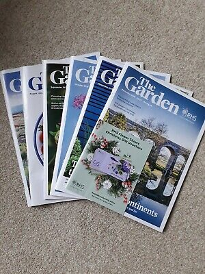 RHS The Garden Magazines July - December 2018 Issues
