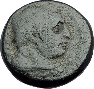 SARDES Lydia Genuine 133BC Authentic Ancient Greek Coin HERCULES & APOLLO i64545