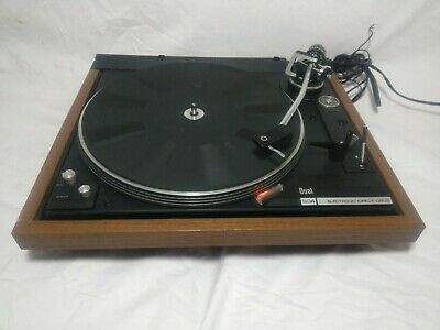 Vintage Dual 604 Direct Drive Turntable