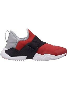 info for 39dee b3ba4 Nike Huarache Extreme GS Size 6 AQ0575 601 boys red wolf grey black shoes