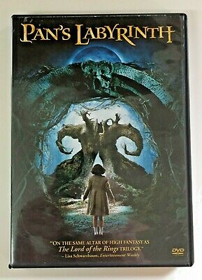 Pan's Labyrinth DVD w/Special Features  Guillermo Del Toro   Like New