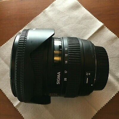 Sigma DC 10-20mm f/4.0-5.6 HSM EX IF ASP DC Lens For Canon
