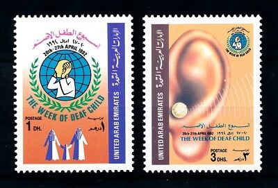 [91390] United Arab Emirates UAE 1992 Week of the Deaf Child  MNH