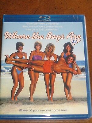 WHERE THE BOYS ARE (1984) (Blu-Ray) SCORPION - LISA HARTMAN - BRAND NEW!!!