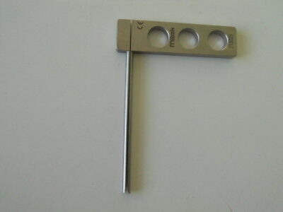 Surgical/Medical. Mitek CE. 213025. Surgical Drill Guide. Free UK P&P.