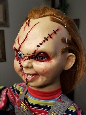 Custom Childs Play 1:1 Bride of Chucky Animatronic Figure Doll Prop MUST SEE!