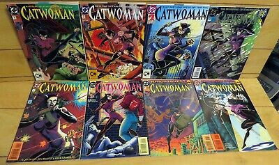 CatWoman #1 #2 #3 #4 #5 #6 #0 NM 1993 Lot of 7 High Grade DC Comic Books